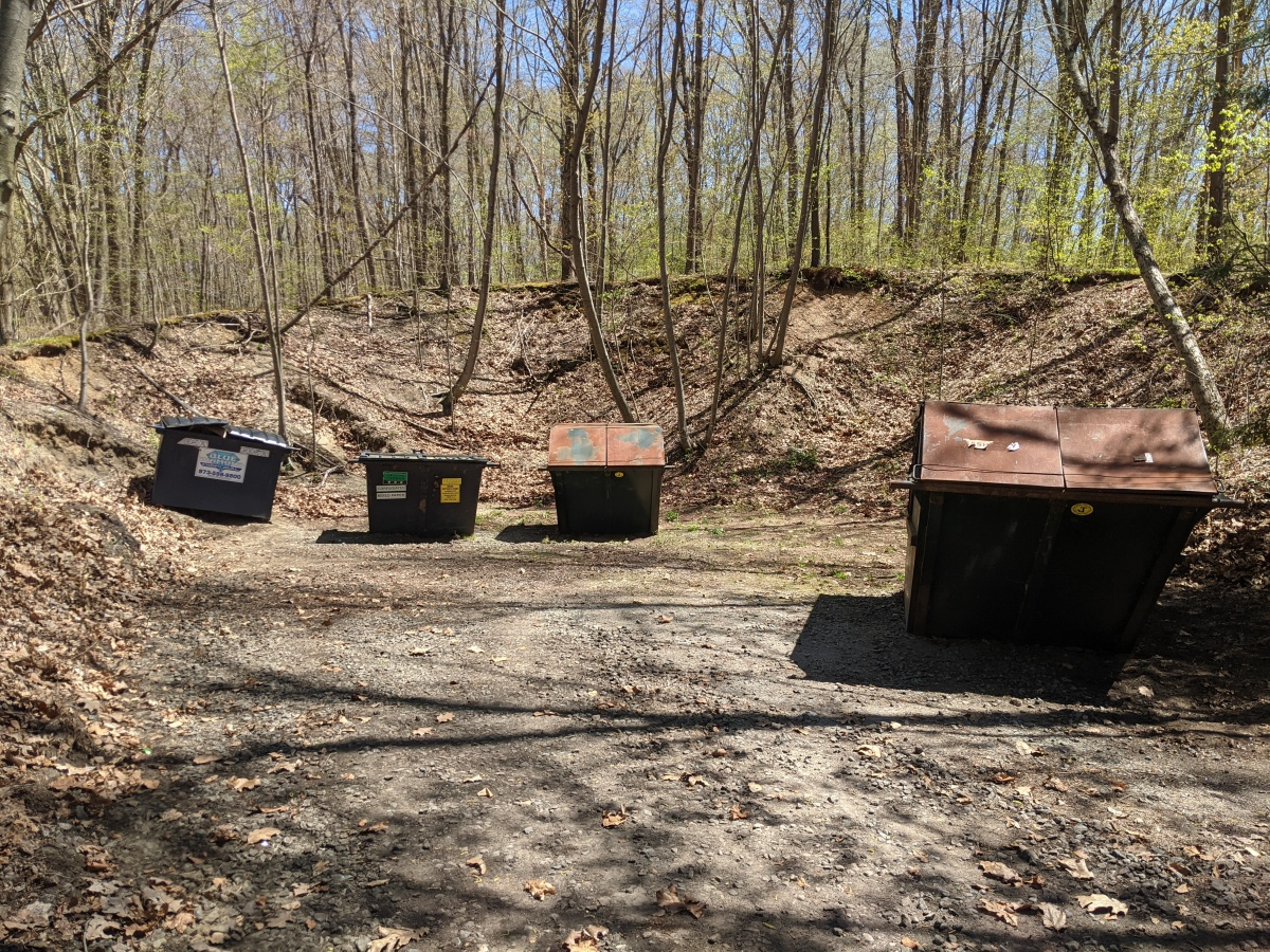 Dumpster Area Clean-up
